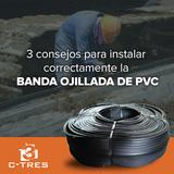 3 consejos para instalar correctamente la banda ojillada de PVC