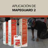 Aplicación de Mapeguard 2 de Mapei