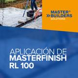Aplicación de Masterfinish RL 100
