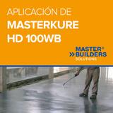 Aplicación de MasterKure HD 100WB