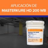 Aplicación de MASTERKURE HD 200 WB