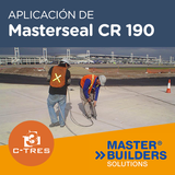 Aplicación de Masterseal CR 190