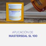 Aplicación de Masterseal SL 100