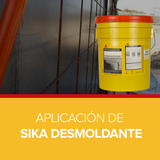 Aplicación de Sika Desmoldante