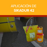 Aplicación de Sikadur 42