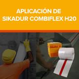 Aplicación de Sikadur Combiflex H20