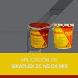 Aplicación de Sikaflex 2C NS EX MIX