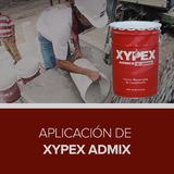Aplicación de Xypex Admix