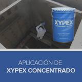 Aplicación de Xypex Concentrado