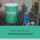Aplicación de Xypex Modificado