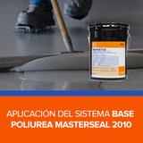 Aplicación del Sistema base poliurea Masterseal 2010 de BASF