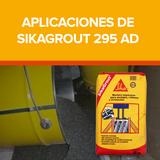 Aplicaciones de Sikagrout 295 AD de Sika