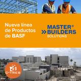 """Nueva línea de Productos """"Master Builders"""" de BASF"""