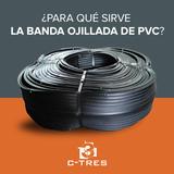 ¿Para qué sirve la Banda ojillada de PVC?