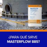 ¿Para qué sirve Masterflow 885?