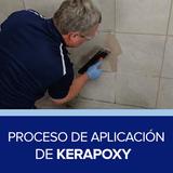 Proceso de aplicación de Kerapoxy