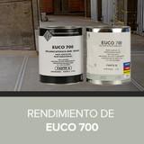 Rendimiento de Euco 700 de Eucomex