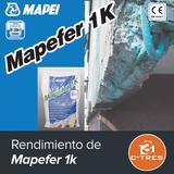 Rendimiento de Mapefer 1k