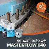Rendimiento de Masterflow 648