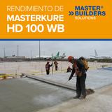 Rendimiento de MasterKure HD 100WB