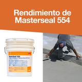 Rendimiento de Masterseal 554