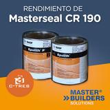 Rendimiento de Masterseal CR 190