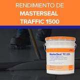 Rendimiento de MASTERSEAL Traffic 1500
