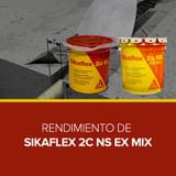 Rendimiento de Sikaflex 2C NS EX MIX