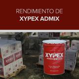 Rendimiento de Xypex Admix