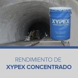 Rendimiento de Xypex Concentrado