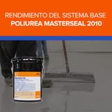 Rendimiento del Sistema base poliurea Masterseal 2010 de BASF