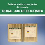 Sellador y relleno para juntas de concreto - Dural 340 de Eucomex