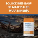 Soluciones BASF (Masterbuilders) de materiales para minería