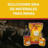 Soluciones Sika de materiales para minas