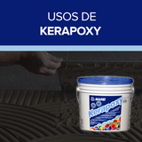 Usos de Kerapoxy de Mapei