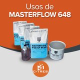 Usos de Masterflow 648
