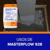 Usos de Masterflow 928