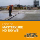 Usos de MasterKure HD 100 WB