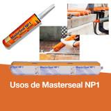 Usos de Masterseal NP1