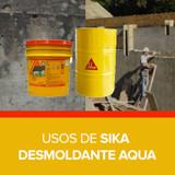 Usos de Sika Desmoldante Aqua