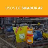 Usos de Sikadur 42