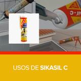 Usos de Sikasil C