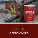 Usos de Xypex Admix