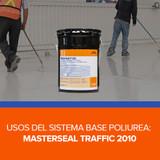 Usos del sistema base poliurea de BASF: Masterseal Traffic 2010