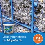 Usos y beneficios de Mapefer 1K