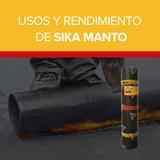 Usos y rendimiento de Sika Manto