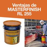 Ventajas de MASTERFINISH RL 255
