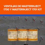 Ventajas de MASTERINJECT 1700 y MASTERINJECT 1701 KIT