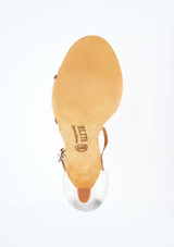 Scarpe Salsa Elite Bella Rummos 7,6cm Argento #3. [Argento]