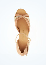 Scarpe da ballo Orla Rummos da 6 cm Marrone superiore. [Marrone]